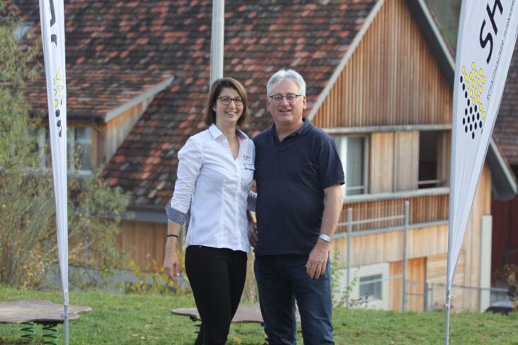 Verbandspräsidentin Andrea Fuchs freut sich zusammen mit OK-Präsident Hansruedi Schuler auf das KTF 2022 in Beringen.